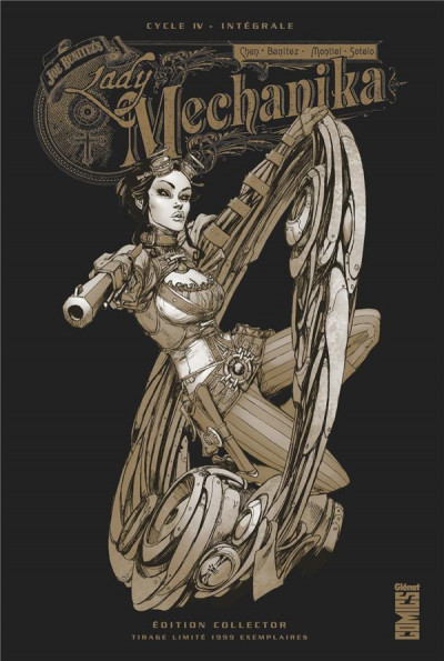 Couverture Lady Mechanika - éd. collector tome 4
