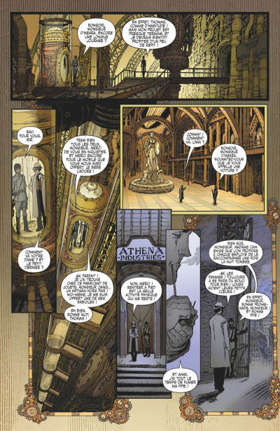 Page 3 Lady Mechanika - éd. collector tome 4