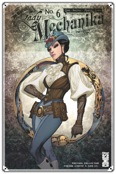 Couverture Lady Mechanika tome 6 (cover variante a)