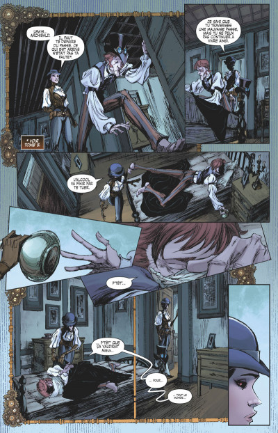 Page 1 Lady Mechanika tome 6 (cover variante a)