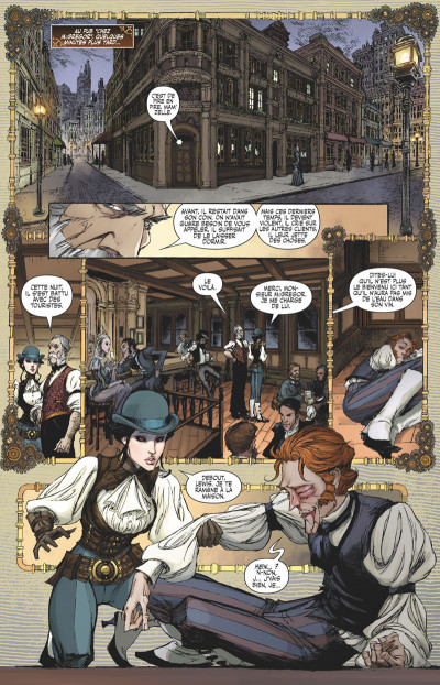 Page 9 Lady Mechanika tome 6 (cover variante a)