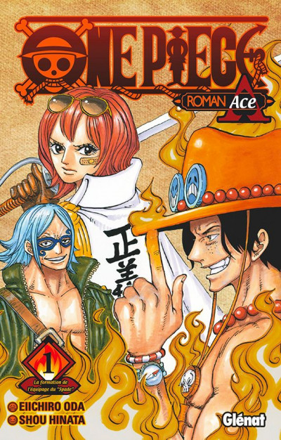 Couverture One piece roman - Ace 1re partie