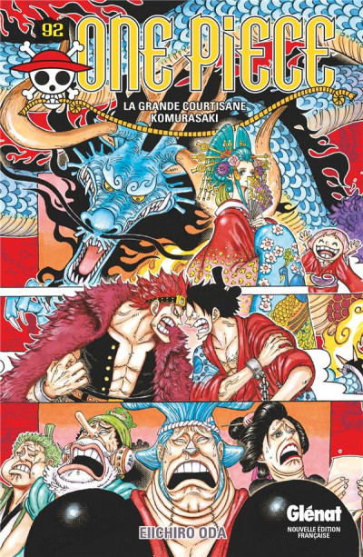 Couverture One Piece tome 92