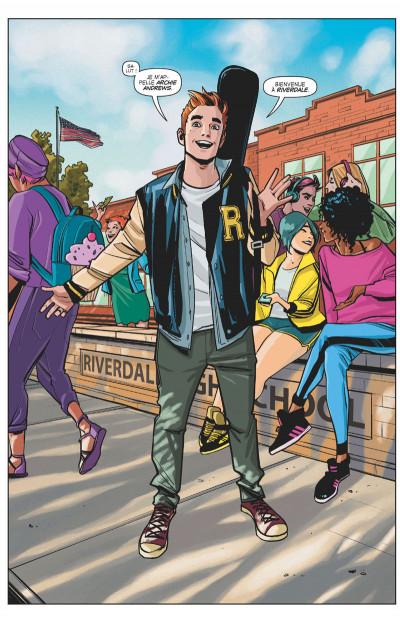 Page 4 Riverdale présente Archie tome 1