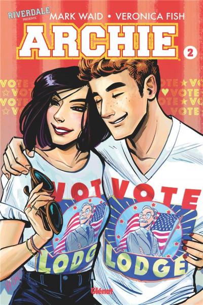 Couverture Riverdale présente Archie tome 2