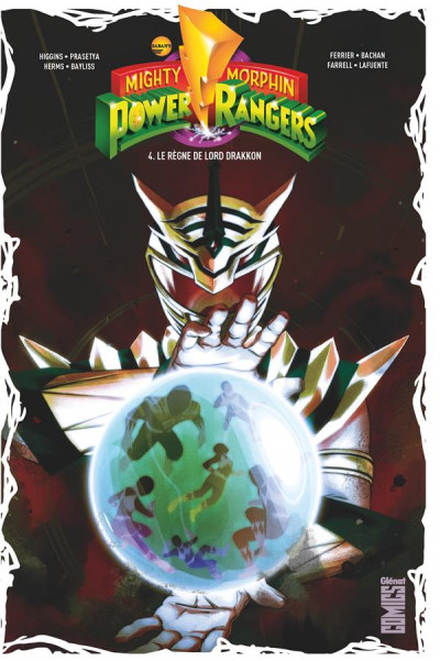 Couverture Power rangers tome 4