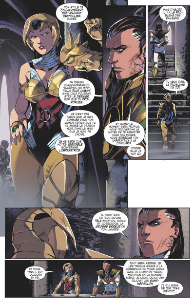 Page 0 Power rangers tome 4