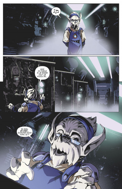 Page 4 Power rangers tome 4