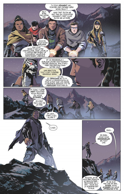 Page 5 Power rangers tome 4