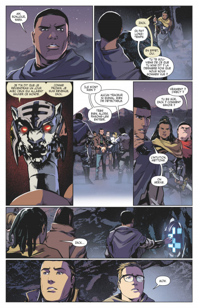 Page 6 Power rangers tome 4