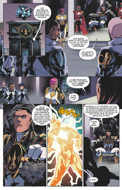 Page 9 Power rangers tome 4