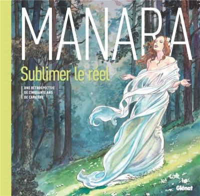 Couverture Manara, une monographie