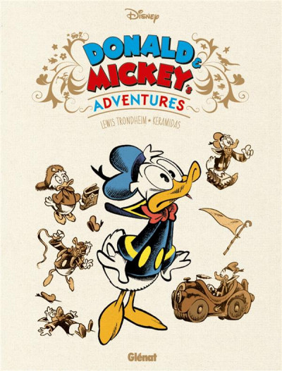 Couverture Mickey and Donald's adventures - coffret