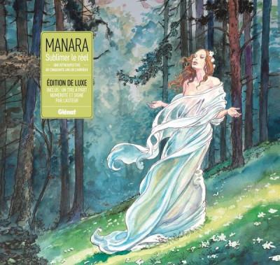 Couverture Manara, une monographie (édition luxe)