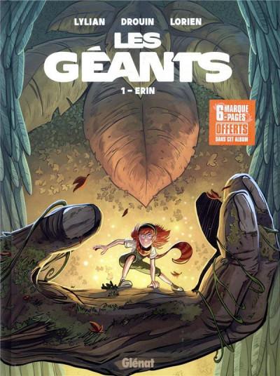 Couverture Les géants tome 1