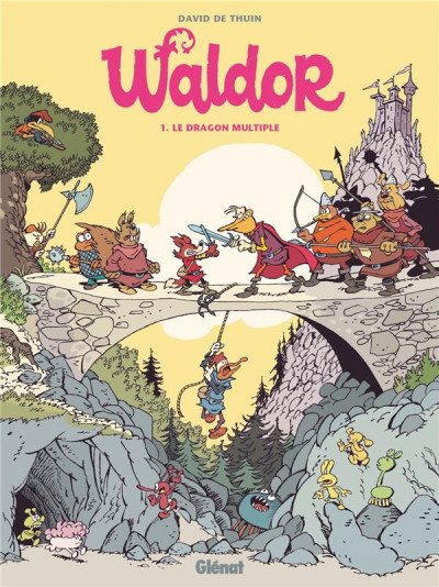 Couverture Waldor tome 1