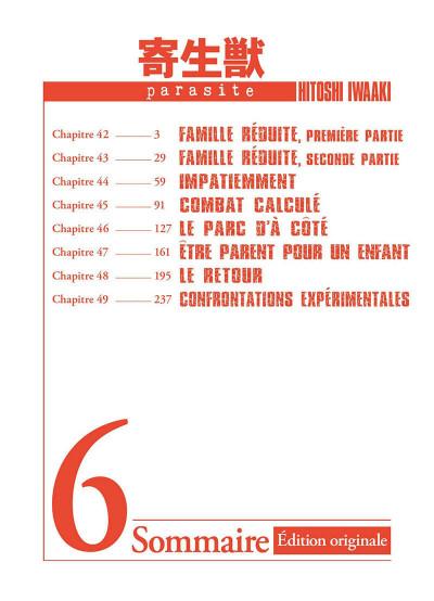 Page 3 Parasite - édition originale tome 6