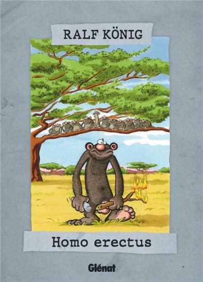 Couverture Homo erectus