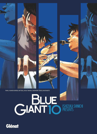 Couverture Blue giant tome 10