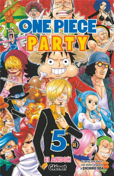 Couverture One Piece party tome 5