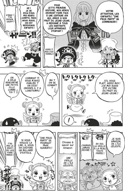 Page 8 One Piece party tome 5