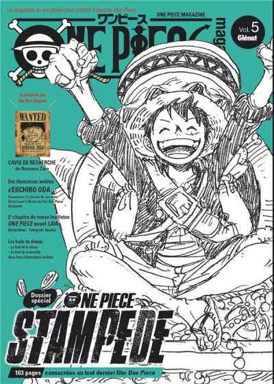 Couverture One piece magazine tome 5