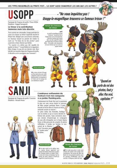 Page 0 One piece magazine tome 5