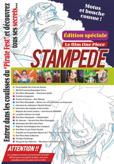 Page 3 One piece magazine tome 5