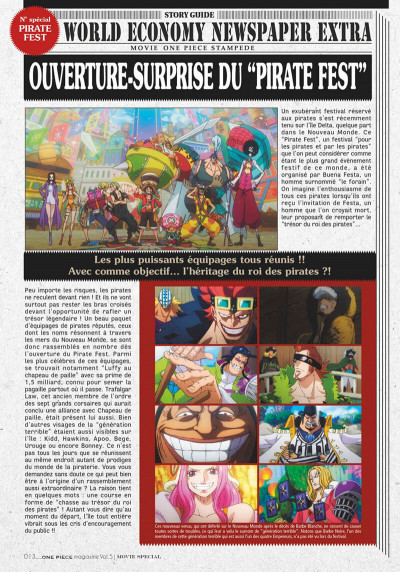 Page 5 One piece magazine tome 5