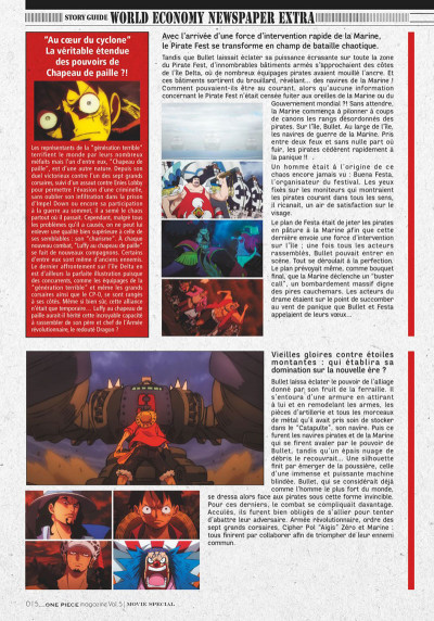 Page 7 One piece magazine tome 5
