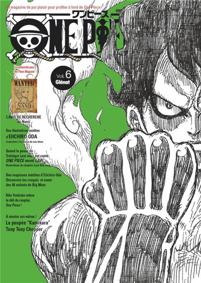 Couverture One piece magazine tome 6