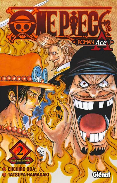 Couverture One piece roman - Ace 2ème partie