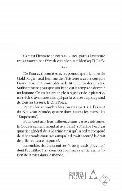Page 3 One piece roman - Ace 2ème partie