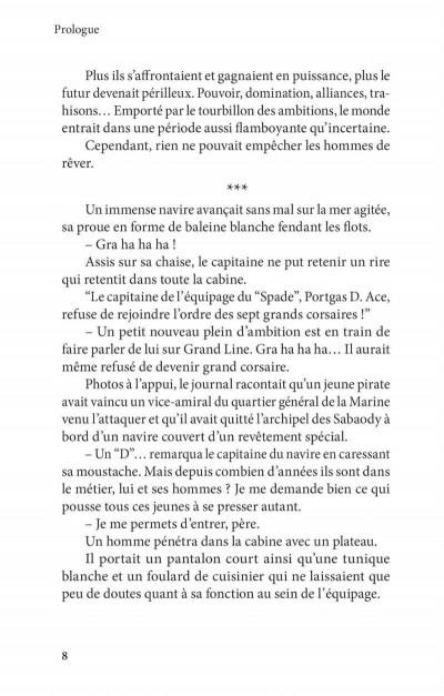 Page 4 One piece roman - Ace 2ème partie