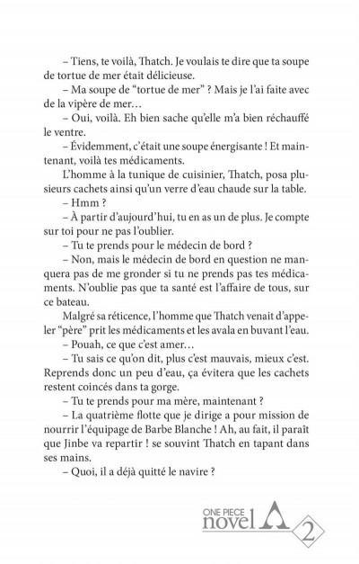 Page 5 One piece roman - Ace 2ème partie