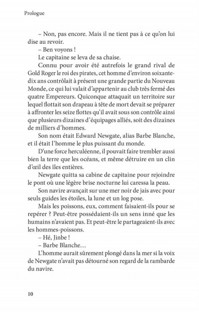 Page 6 One piece roman - Ace 2ème partie