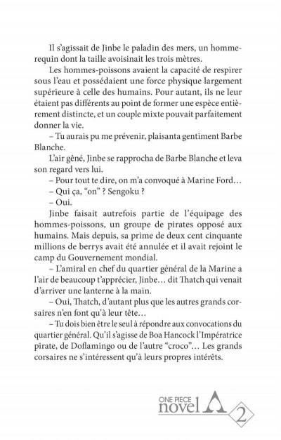 Page 7 One piece roman - Ace 2ème partie