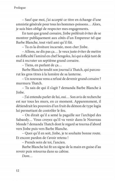 Page 8 One piece roman - Ace 2ème partie