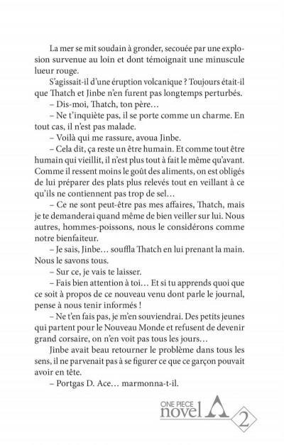 Page 9 One piece roman - Ace 2ème partie