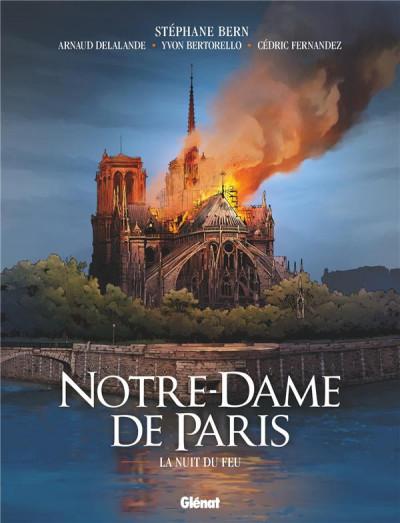 Couverture Notre-dame de Paris - La nuit du feu