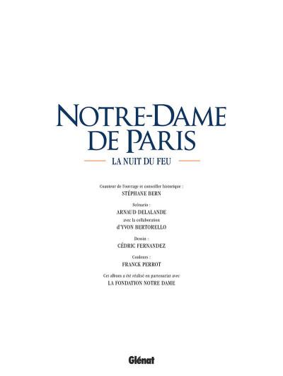 Page 2 Notre-dame de Paris - La nuit du feu
