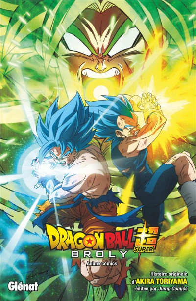 Couverture Dragon ball super - Broly