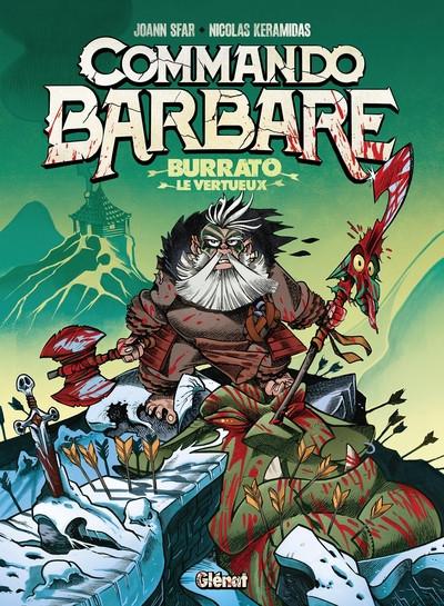 Couverture Commando barbare + ex-libris offert