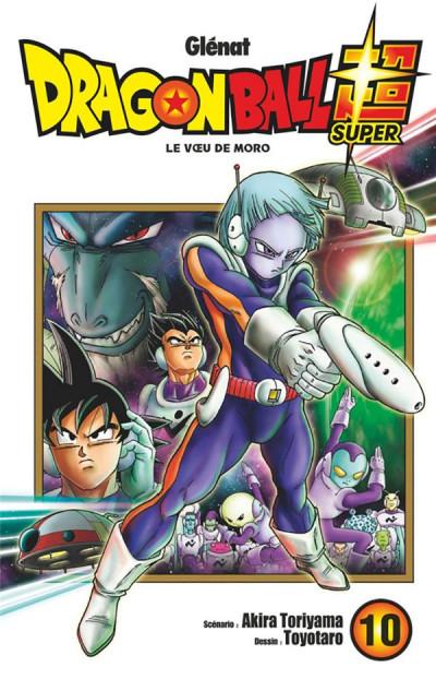 Couverture Dragon Ball Super tome 10