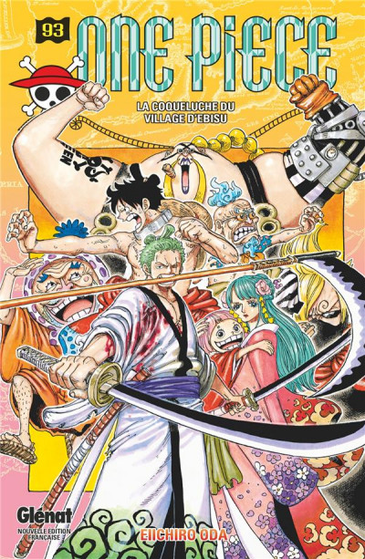 Couverture One piece tome 93