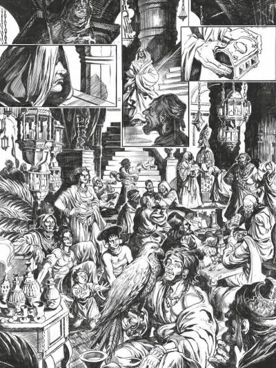 Page 0 Conan le cimmérien - La maison aux trois bandits (édition noir & blanc)