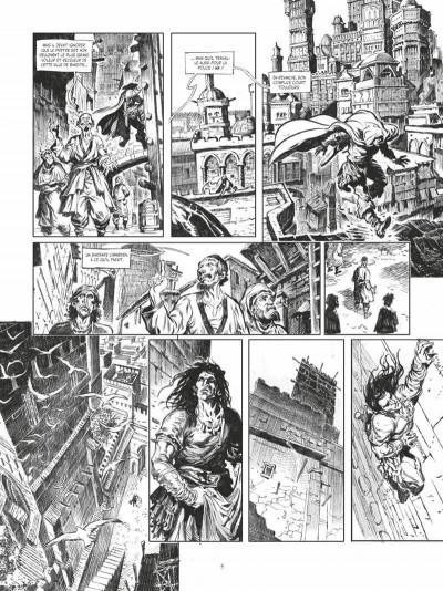 Page 5 Conan le cimmérien - La maison aux trois bandits (édition noir & blanc)