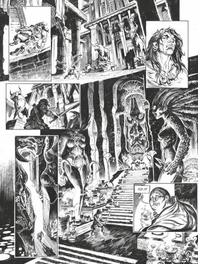 Page 6 Conan le cimmérien - La maison aux trois bandits (édition noir & blanc)