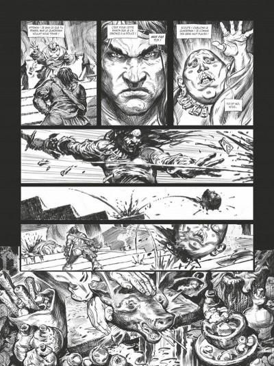 Page 7 Conan le cimmérien - La maison aux trois bandits (édition noir & blanc)