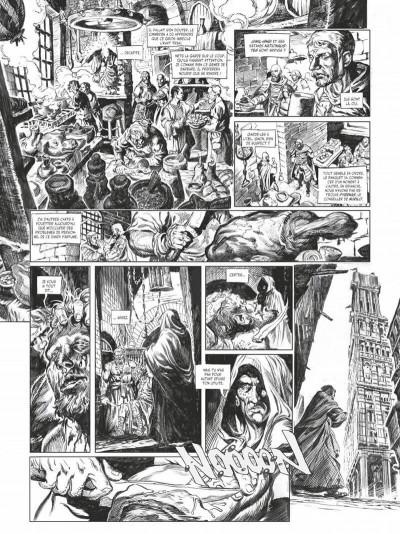 Page 8 Conan le cimmérien - La maison aux trois bandits (édition noir & blanc)